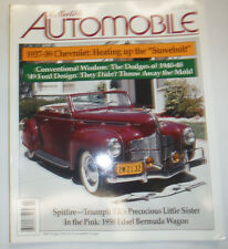 Collectible Automobile Magazine 1937 Chevy & Spitfire Triumph April 2001 030615R