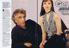 COUPURE DE PRESSE CLIPPING 1994 MATHILDA MAY - GERARD DARMON   (4 pages)