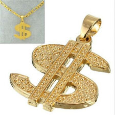 FD4266 Dazzling Dollar Money Sign Pendant For Hiphop Chain Necklace Jewelry♫