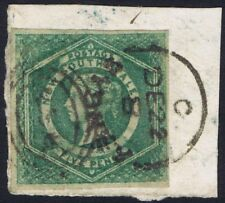 New South Wales 1854 Diadem SG88 5d Dull Green Very Fine Used Cat £650.00