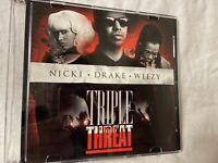Nicki Drake Weezy: Triple Threat ( Mixtape CD) RARE Young Money Lil Wayne