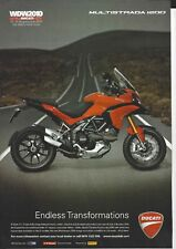 an Original 2011 Magazine Advertisement for the Ducati Multistrada 1200