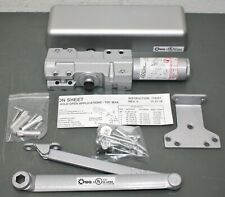 PDQ Manufacturing Ability One Hydraulic Door Closer 7101, Aluminum, 7100 Series