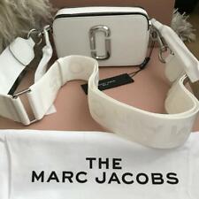 MARC JACOBS Snapshot Bag WHITE Leather Crossbody Shoulder Camera Bag Summer 2020