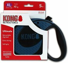 KONG Ultimate Retractable Dog Leash, Extra Large, Blue, 5m Tape