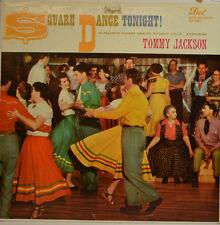 "TOMMY JACKSON - SQUARE DANCE TONIGHT - DOT DLP 3085  12"" LP (X174)"