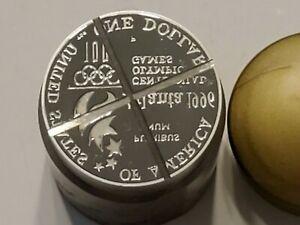 U.S Mint 1996 Olympic 100 Year Centennial, Atlanta ONE DOLLAR STRIKE DIE, Back