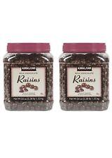 2 Packs Kirkland Signature Milk Chocolate Covered Raisins 3.4 LB Each Pack
