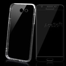 Protective HD Screen Protector TPU Case f Samsung Galaxy J3 Prime J327