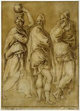 Antique Master Print-GENRE-PRINTDRAWING-STANDING FIGURES-Rustici-Mulinari-1774