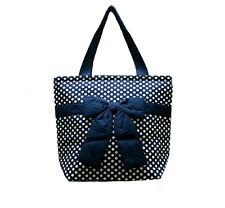 NARAYA Handbag Shoulder Bag Blue White Polka Dots NB 200N CP50