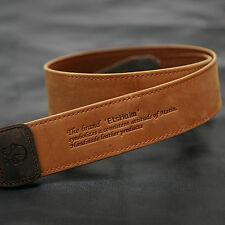 MATIN Camera Leather Neck Shoulder Strap Vintage-38 Tan for D-SLR RF Mirrorless