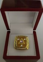 Kobe Bryant - 2002 Los Angeles Lakers NBA Championship Ring WITH Wooden Box