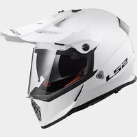 LS2 CASCO OFF ROAD PIONEER MX436 KPA SOLID WHITE