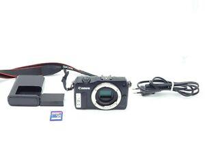 Canon EOS M Systemkamera Schwarz guter Zustand  - 18 MP - Full HD  -Vom Händler-