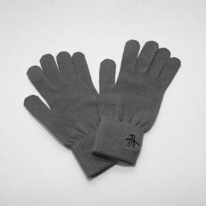 Mens Original Penguin Symes Grey Gloves (CMAC8) RRP £19.99