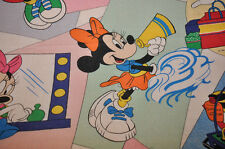 rare collector Disney Flat sheet minnie very good condition set of bed