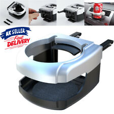 Auto Car Coffee Cup Holder Mount Tray Air Vent Bottle Drinking Can silve Bracket