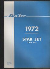 1972 SNO-JET SNOWMOBILE  STAR JET  HIRTH 292cc  PARTS MANUAL (127)