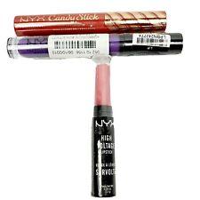 NYX High Voltage Lipstick Sweet 16 Candy Slick Jawbreaker, Lip Oil Feisty Sealed