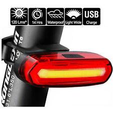 120 lúmenes LED bicicleta luz trasera USB recargable potente bicicleta trasera