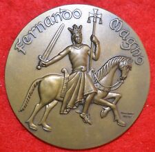 Magnificent bronze medal allusive to the Centenary of the Christian Reconquest /