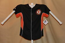 SAN FRANCISCO GIANTS sewn logo JERSEY by MAJESTIC  Youth Large  NWT  $45 retail