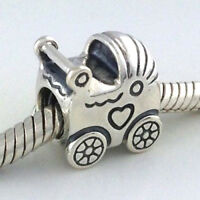 Pandora Baby Carriage Sterling Silver Charm 925 Ebay