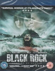 BLACK ROCK BLU-RAY - LAKE BELL - SURVIVAL HORROR - NEW AND SEALED - FREE POST