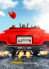 ALVIN AND THE CHIMPMUNKS: THE ROAD CHIP 27 X 40 ORIGINAL 2015 D/S MOVIE POSTER