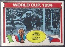 TOPPS-FOOTBALL (ORANGE BACK 1978)-#338- WORLD CUP 1934
