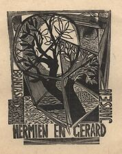 Ex Libris Lou Strik : Opus 7, Hermien en Gerard Jansen