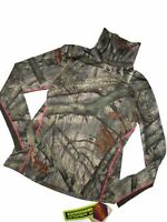 UNDER ARMOUR Women's hunting MOCK Shirt Pullover Infrared EVO Size XL Coldgear