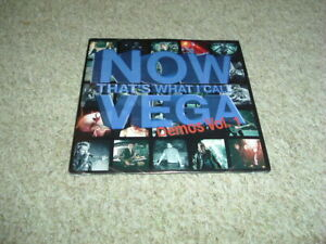 VEGA - NOW THAT'S WHAT I CALL VEGA - MEGA RARE 10 TRACK DEMO CD - UK ROCK BAND