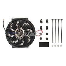 "10"" Inch Radiator Electric Push/Puller Thin Slim Cooling Fan 7 AMP Draw JDM"