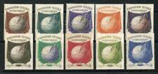 Timbres evénements avec 10 timbres