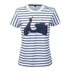 New Women's Vespa Graphic T-Shirt~ White ~S~ # 607089MW2