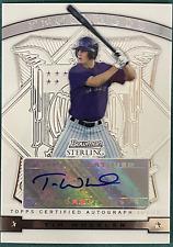 Tim Wheeler 2009 Bowman Sterling Autographed Card