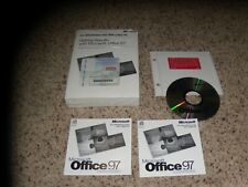 Microsoft Office 97 Professional Edition PC Program with manual