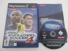 PRO EVOLUTION SOCCER 4 - SONY PLAYSTATION 2 - Jeu PS2 PAL Fr Complet