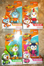 NICK JR TOP WING ROD SWIFT PENNY BRODY FIGURE LOT 4 SET HOT TOY 2018