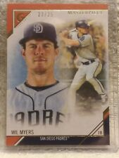 Wil Myers 2017 Topps Gallery Baseball Card #MP-15 SN# 23/25