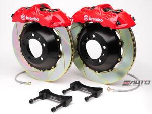 Brembo Front GT Brake BBK 6piston Red 355x32 Slot 128i 135i E81 E82 E88 08-13
