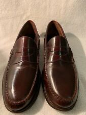 c5e9b7f39df Vintage Frank Brothers Leather Cordovan Slip On Loafers Size 10.5 D