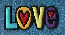 Lot of 2 Word Love embroidery patches