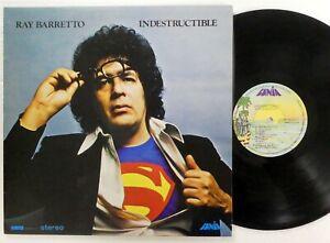 RAY BARRETTO Indestructible LP Fania Venezuela MINT- reissue Latin Salsa  a78