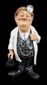 Funny Job Figur - Arzt mit Doktortasche - Warren Stratford lustiger Beruf Statue