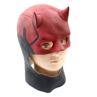 Daredevil Masks Movie Halloween Cosplay Costume Prop Fancy Dress Latex Mask