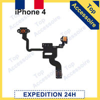 IPHONE 4 NAPPE SONDE CAPTEUR DE PROXIMITÉ + BOUTON POWER ON/OFF