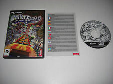 ROLLERCOASTER TYCOON 3 Pc Cd Rom nm ROLLER COASTER RCT III  - FAST POST